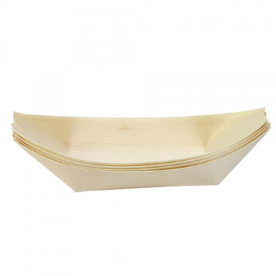 170mm Wooden Sushi Boat