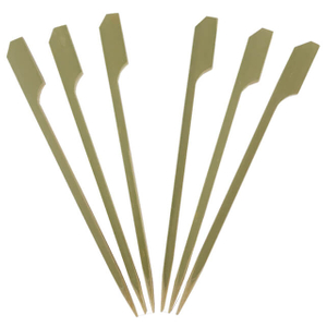 90mm Green Paddle Skewer