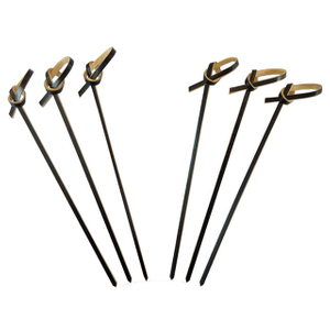 120mm Black Knot Skewers