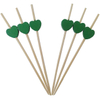 Bamboo Heart Beads Skewers