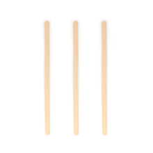 "5.5"" Individually Wrapped Birch Wood Coffee Stirrer"